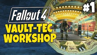 Fallout 4 - The Meat Factory #1 - Vault Tec Workshop