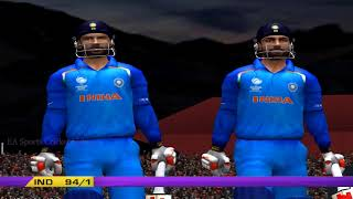 EA CRICKET 18 PC Gameplay - India Vs South Africa - 10 Overs Match Part 2