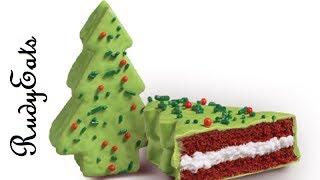 Little Debbie Red Velvet Tree Cakes Review - Rudyeats