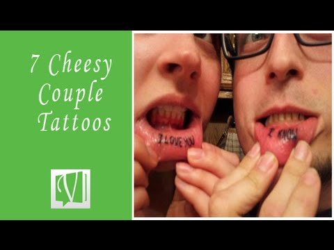 8 Cheesy Couple Tattoo That Will Leave You Speechless