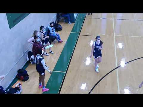 The Cambridge Matignon School Girls Basketball Vs. St. Joseph Prep 1/12/21