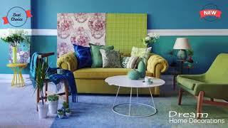 Home Decoration Styles for Modern Homes  Textiles in the interior  curtains, pillows, rugs & Eleganc