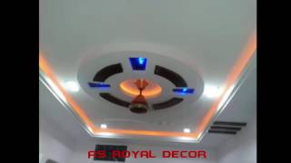 Amazing Gypsum Ceiling Designs(asroyaldecor)
