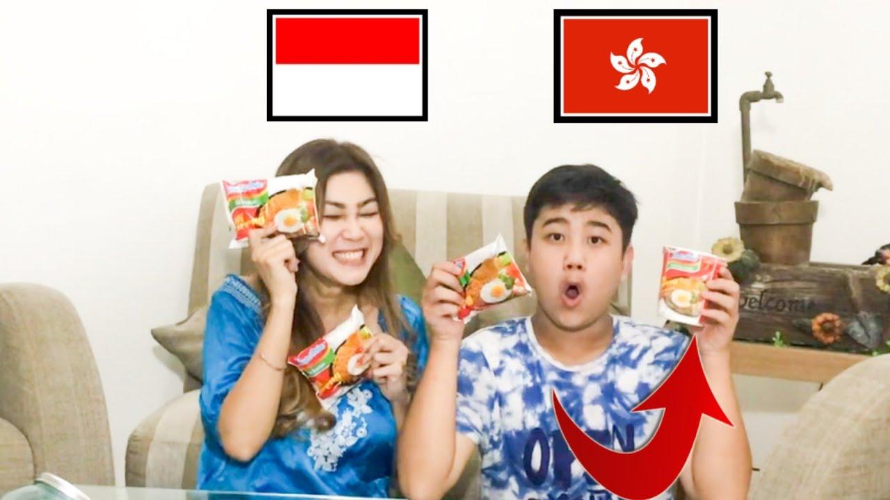 INDOMIE INDONESIA VS INDOMIE HONGKONG *ENAKAN MANA YA ??*