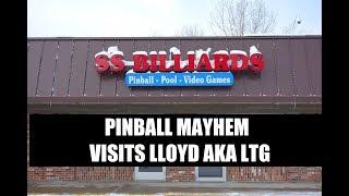 Pinball Mayhem Visits SS billiards Jan 2018