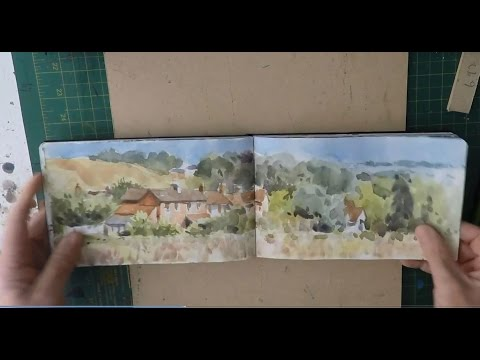 My  Sketch Book Watercolours - Watercolor Journal Painting: See what I have been painting in my sketchbooks over the last few months. Visit my website for more inspiration  My Patreon page  https://www.patreon.com/PureWatercolour                                                  My Website Pure Watercolour            www.purewatercolour.com Lamey Safari Fountain Pen                 https://goo.gl/rHCygQ  Waterproof Fountain pen ink              http://amzn.to/2pwdYfO 140lb Not Watercolour Paper             http://amzn.to/2HHCClc Moleskin Watercolour Journal           http://amzn.to/2HHNIGS  Liz Deakin Watercolour Palette          http://amzn.to/2HWaQRX  Watercolour workshop Patrick Ley-Greaves  https://goo.gl/MqoouG  Canon 80d                                             http://amzn.to/2G2pcjp Rode VideoMicro .                               http://amzn.to/2IL1RnV  www.purewatercolour.com   https://www.facebook.com/PureWatercolour/