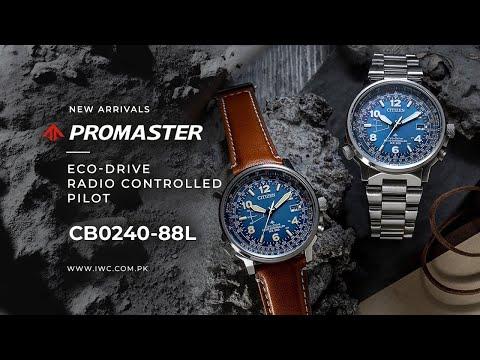 ECO-DRIVE RADIO CONTROLLED PILOT – CB0240-88L