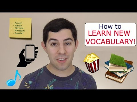 6 Tips for Learning Vocabulary in a Foreign Language!