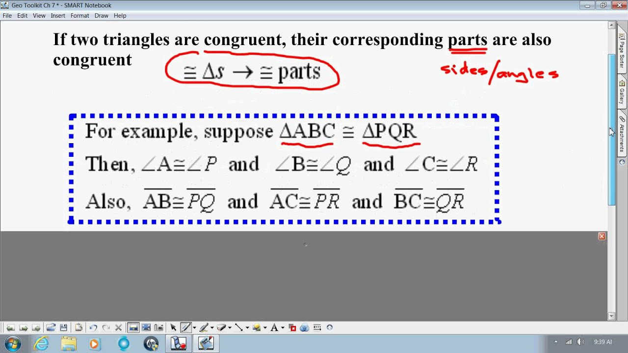 Property of Equality Geometry Properties Equality Upload