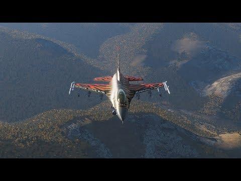 DCS World F-16C Turkish Air Force 192.KAPLAN FILO In Action
