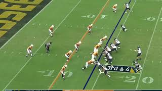 College football film study: Tennessee not defending the edge