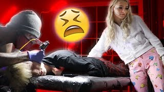 WE ALL GOT TATTOOS! *PAINFUL*  l Cody Orlove FT. Zoe Laverne