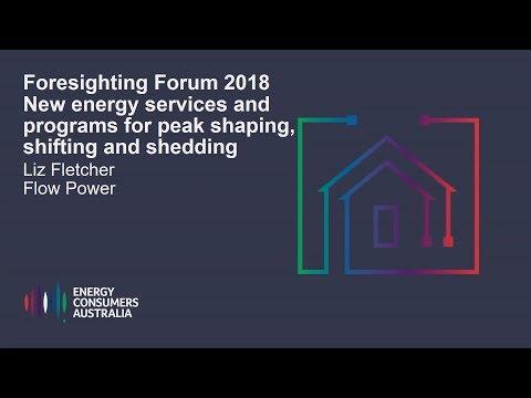 Liz Fletcher, Flow Power - New energy services and programs