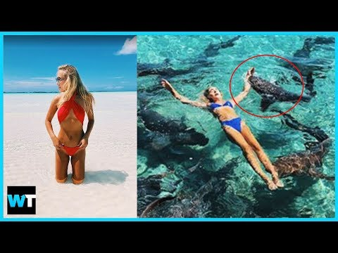 Instagram Model BITTEN By Nurse Shark In The Bahamas!! | What's Trending Now!