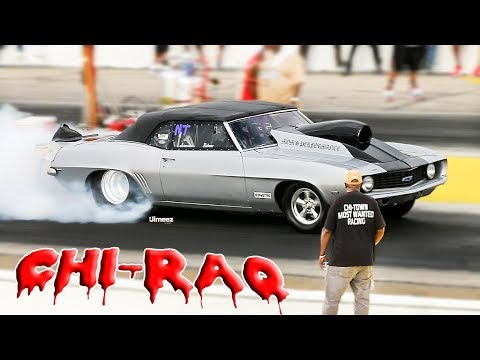 CHI-TOWN'S MOST WANTED! NITROUS! CLOCKS OFF! 1/4 MILE GRUDGE! BIG DRAGS! BYRON!