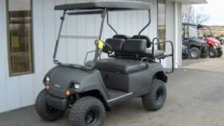 2001 Yamaha Gas G16 Black Street-Ready Golf Cart