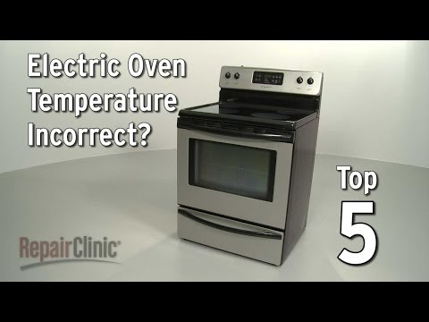 "Thumbnail for video ""Top 5 Reasons Electric Oven Temperature Is Incorrect?"""