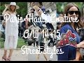 VLOG | Paris Haute Couture - STREET STYLE | VOODOO CHILD