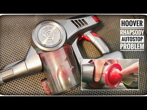 Hoover Rhapsody - samoczynne wyłączanie silnika odkurzacza autostop - rozwiązanie problemu