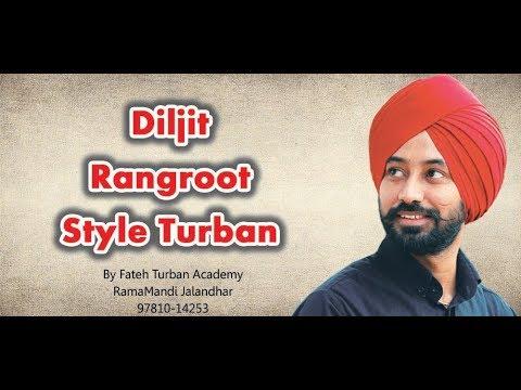 Uk Style Turban | Diljit Dosanjh El Sueno Turban