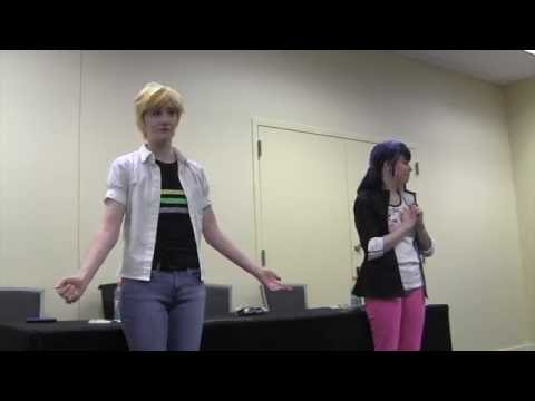 Miraculous: Marinette & Adrien PART 1 | KuroNekoCon 2016