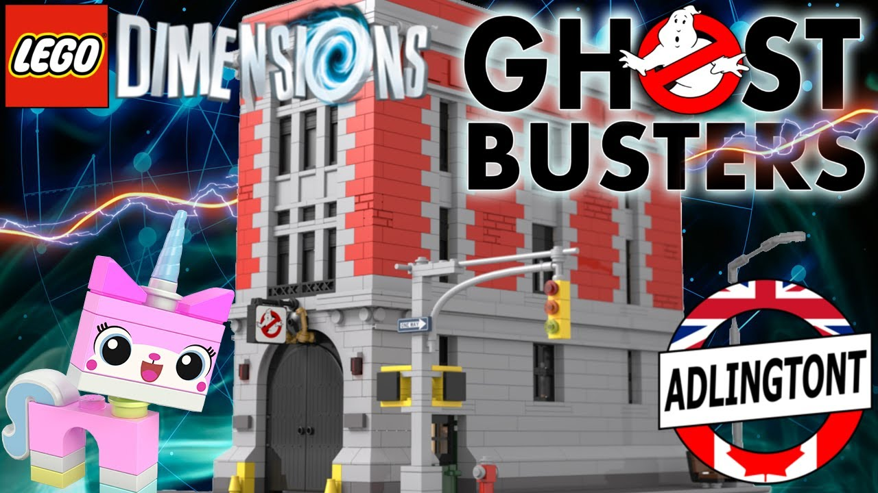 Ghostbusters Hq Lego Dimensions 32 Youtube