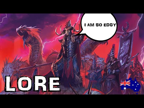 Dark Elves Entire Lore Explained by an Australian - Warhammer Fantasy