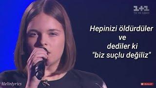 O Ses Ukraynada Türkçe Esintileri - Jamala - 1944 - Türkçe Çeviri