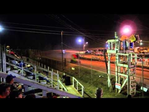305 Carolina RaceSaver Sprint Cars 9/20/14 Sumter Speedway SC