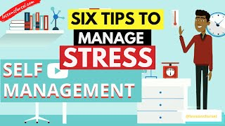 SOCIAL EMOTIONAL LEARNING VIDEO LESSON WEEK 7: SELF-MANAGEMENT - 6 TIPS TO MANAGE STRESS!