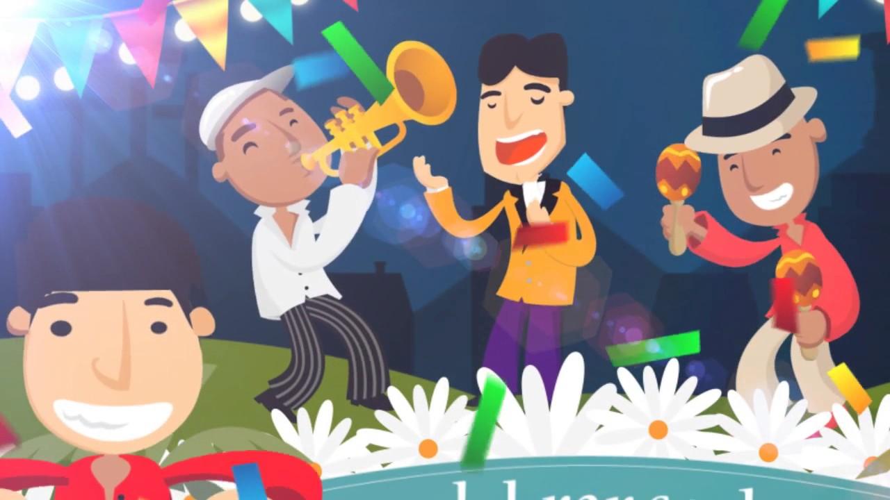 Cancion Feliz Cumpleanos Salsa.Feliz Cumpleanos Asociado Coprocenva Tema Salsa Youtube