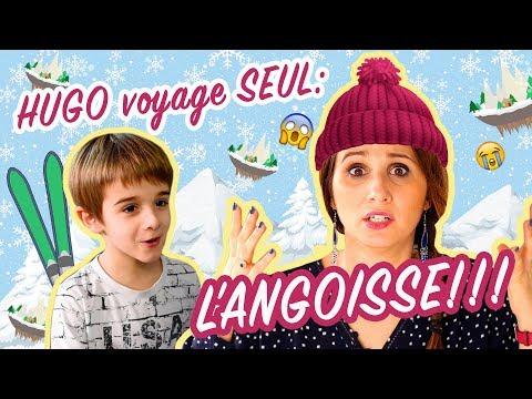HUGO VOYAGE SEUL : L'ANGOISSE ! ANGIE LA CRAZY SÉRIE