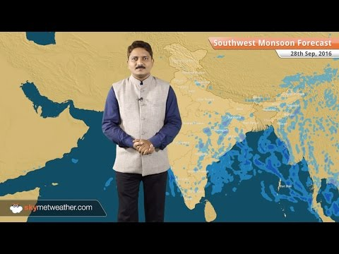 Monsoon 2016 Forecast for Sep 28: North India and Northwest Plains to remain dry