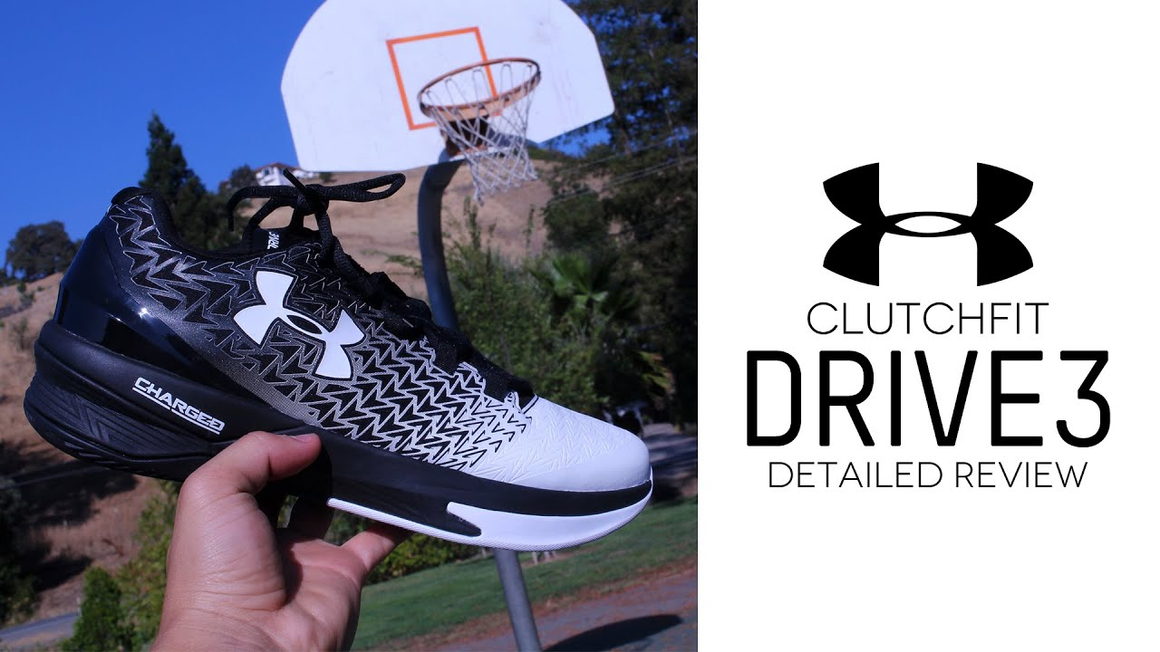 d95d04a3d6dc Under Armour ClutchFit Drive 3 Low - Detailed Review - YouTube