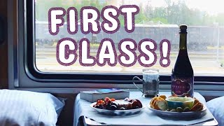 FIRST CLASS on the Trans-Siberian Railway!
