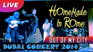 Kamal Musallam  - Out Of My City. Live in Dubai 2014 [with Homemade In Rome project]