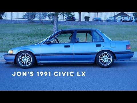 1991 Civic LX - EF Sedan