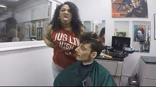 Ice Poseidon goes to the best barber ever! [VOD: 07-03-2017]