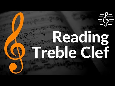 Reading and Identifying Notes in the Treble Clef - How to Read Music