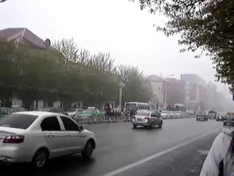 A Snowed Day On May Day In Jining Inner Mongolia