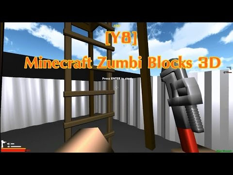 [Y8] [MINECRAFT: ZUMBI BLOCKS 3D]