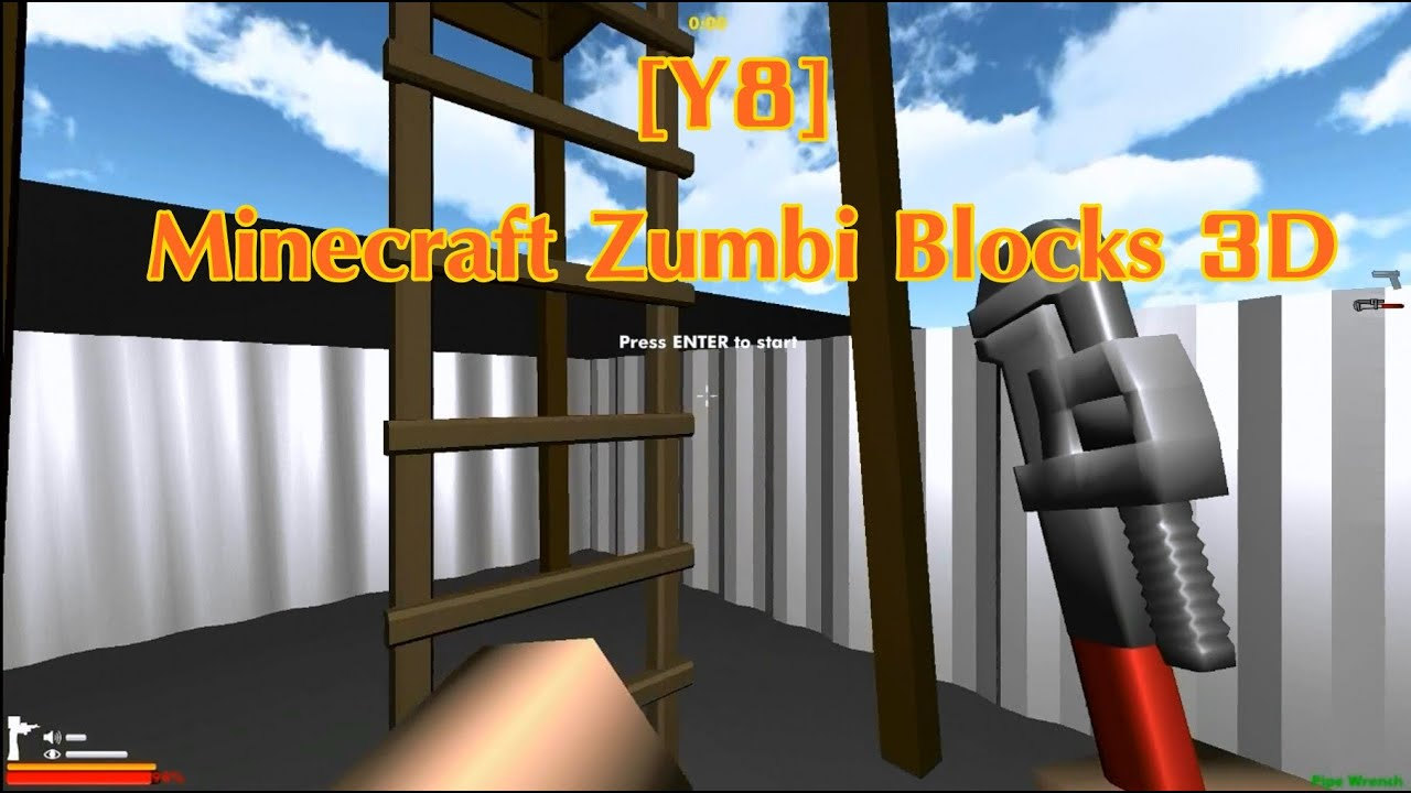 [Y8] [MINECRAFT: ZUMBI BLOCKS 3D] - YouTube