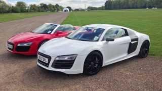 Audi R8 V10 Plus Test Drive