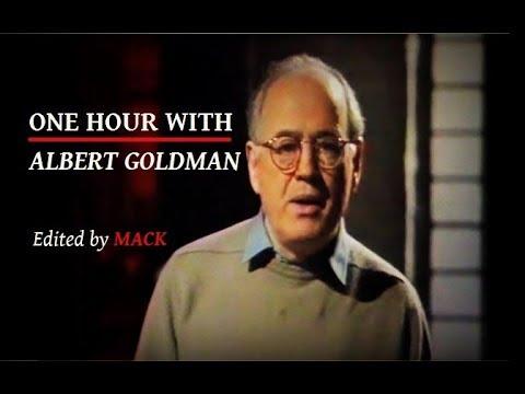 ONE HOUR WITH ALBERT GOLDMAN (best selling biographer of Elvis and John Lennon)