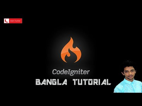 Codeigniter bangla tutorial 21 (Image showing)