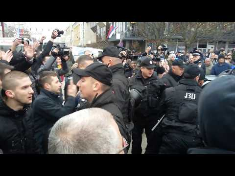 'Pravda za Davida': Hapšenja i sukobi sa policijom