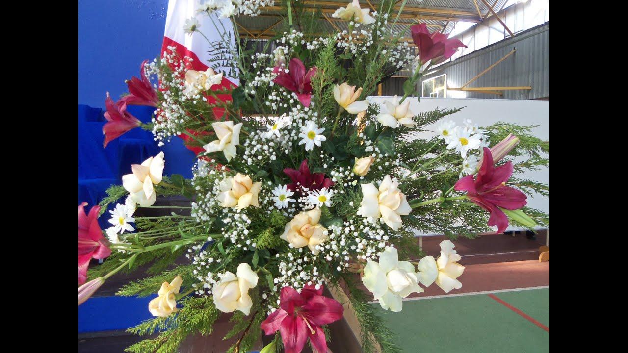 Propuesta De Arreglos Florales Youtube