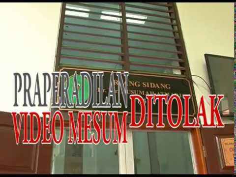 Praperadilan kasus video mesum Luna Maya di tolak