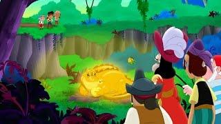 Джейк и пираты Нетландии - Джейк и бобовый стебель/ Красная шляпочка с пером - Серия 17, Сезон 2