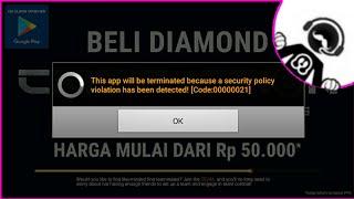 Gk Cheat Kok ada Code 21 [Cara Mengatasi Detected Code : 00021]   | Crisis Action